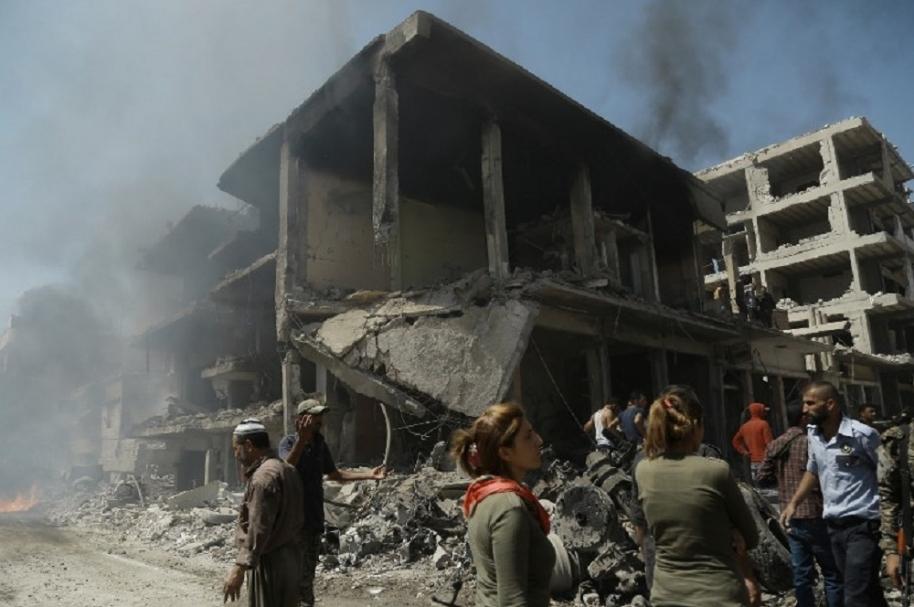Bomba en Siria