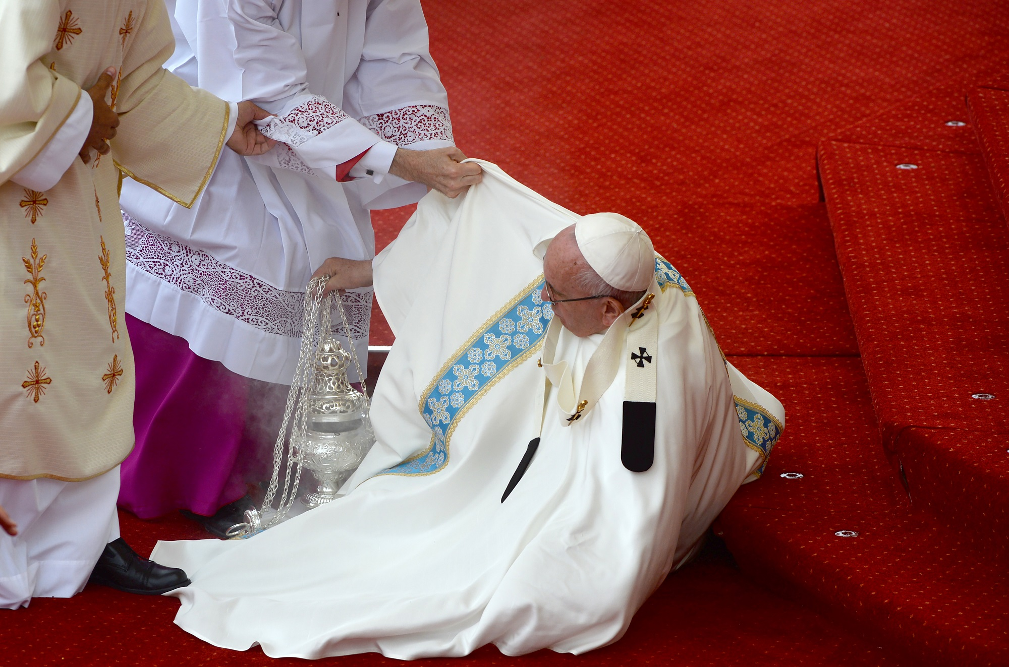 POLAND-VATICAN-DIPLOMACY-RELIGION-POPE-YOUTH