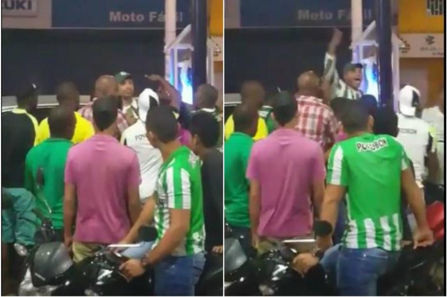 Alcalde de Turbo regaña a policías