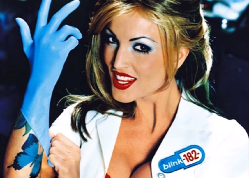 Enfermera del disco Enema of State de Blink 182 - pulzo.com