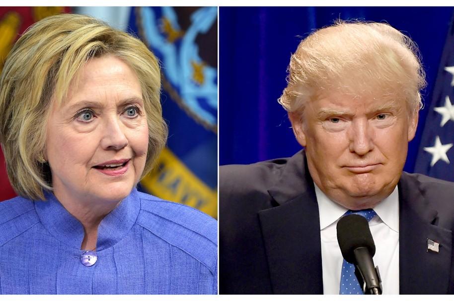Clinton - Trump