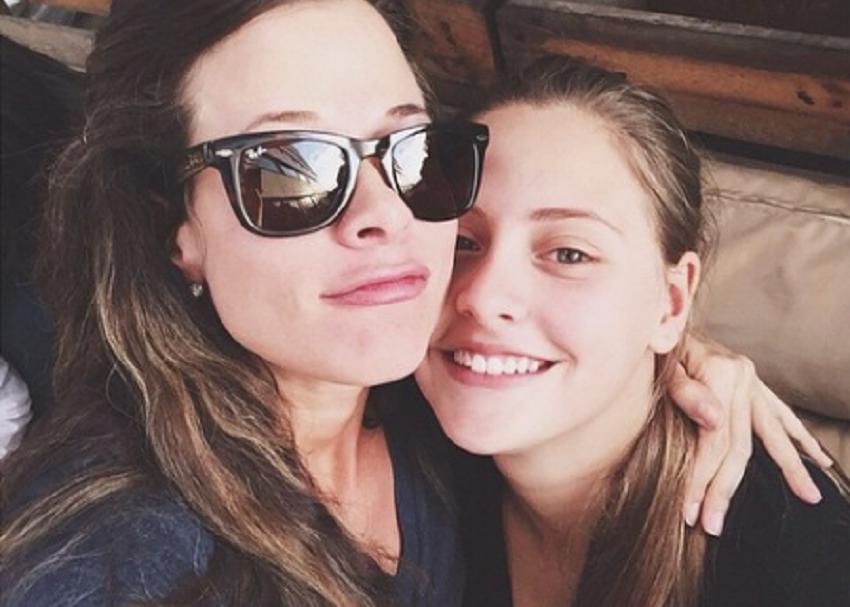 Estefanía Borge con su hija Sofía del mar - pulzo.com