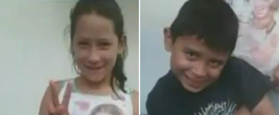 Valeria y Tomás Guaneme López, niños desaparecidos en Bogotá