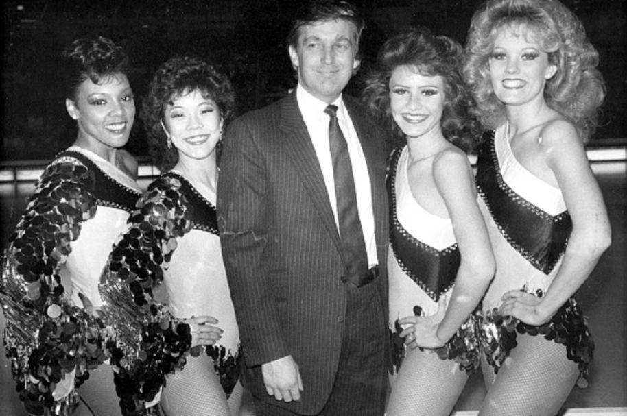 Trump joven