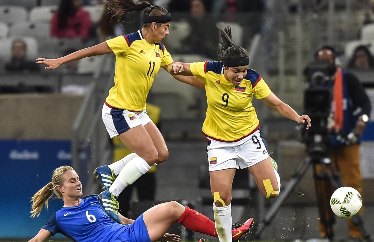 Colombia femenina AFP