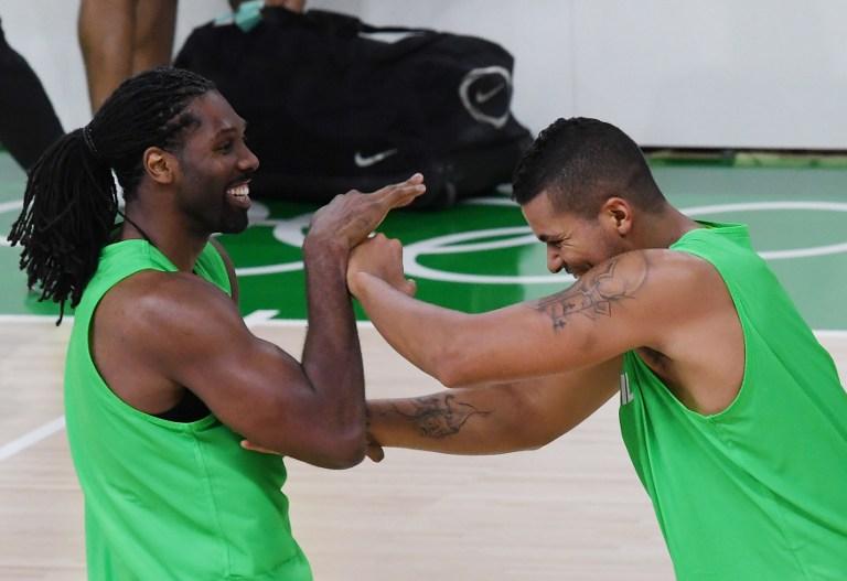 Jugadores del equipo brasileño de básquetbol. Pulzo.com