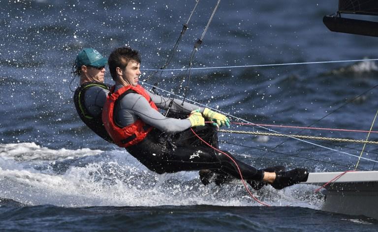 Navegantes australianos entrenan para los Juegos Olímpicos. Pulzo.com