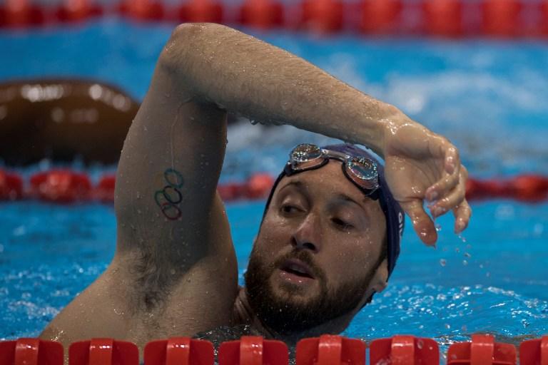 Un nadador francés entrena para los Juegos Olímpicos. Pulzo.com