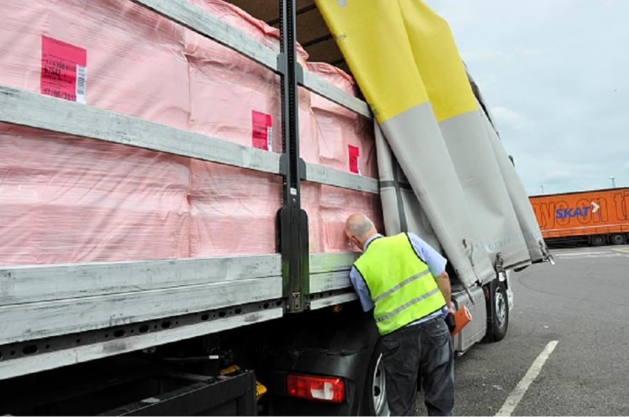 Inspección de un camión