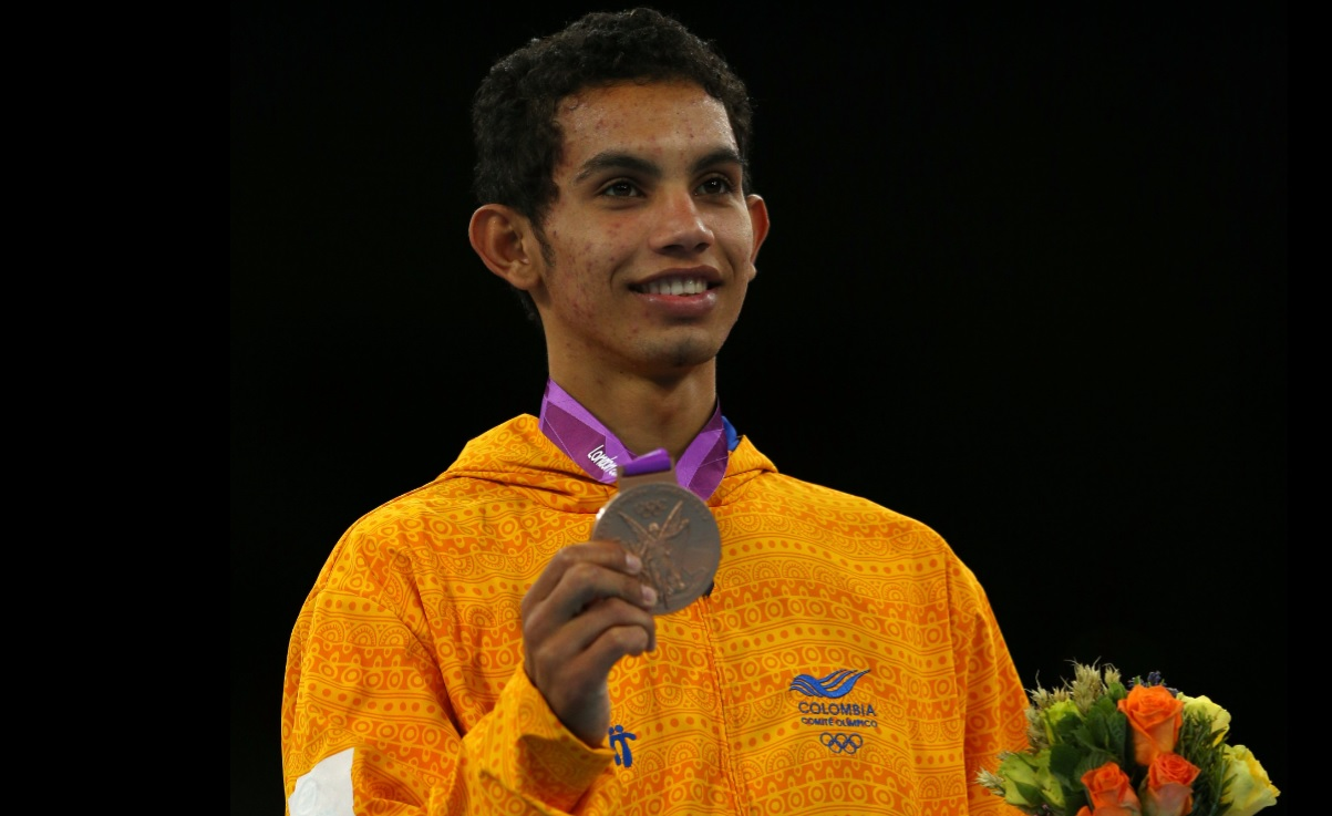 Oscar Muñoz, deportista Olímpico.