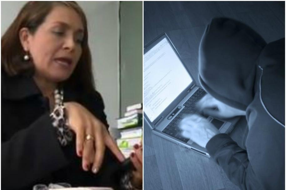 Fiscal denuncia 'hackeo' y señala a una compañera