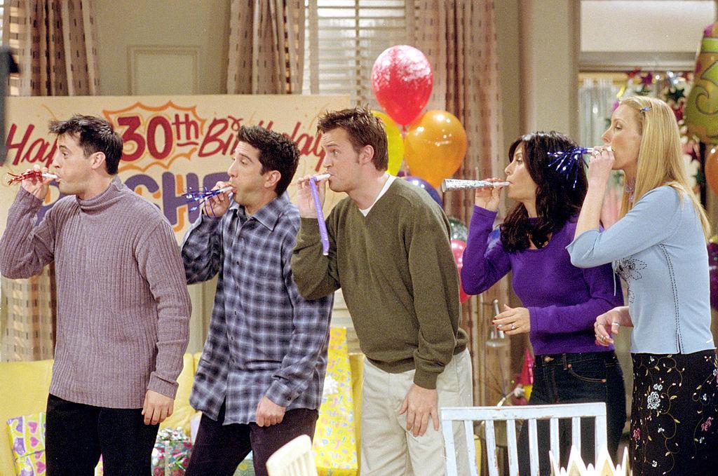 Imagen de una escena de 'Friends'.