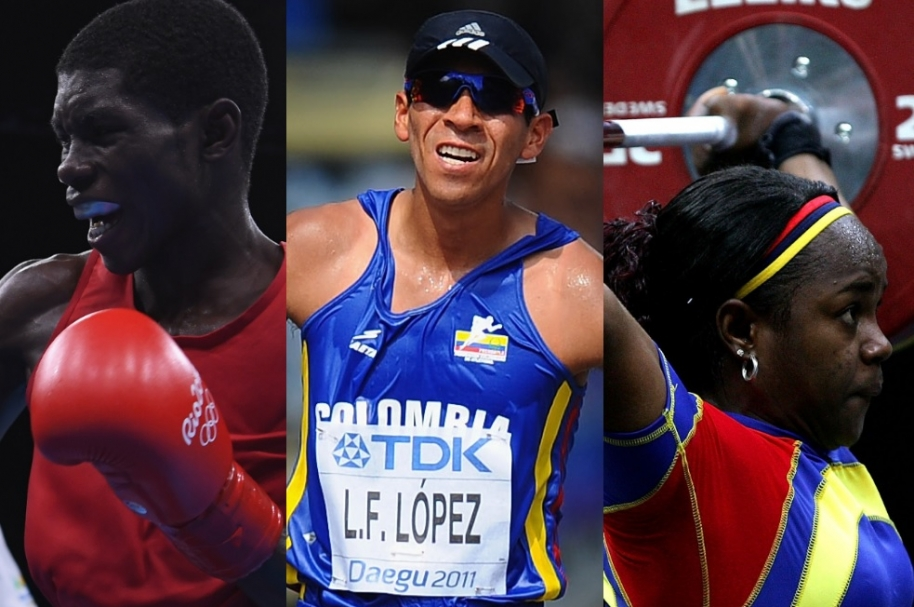 Colombianos olimpicos