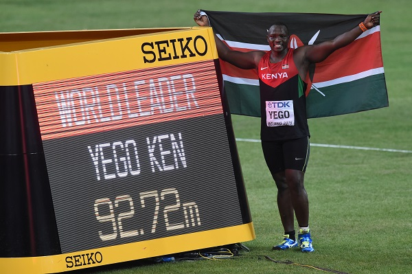 Julius Yego-AFP