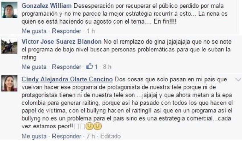 Epa Colombia comentarios en redes