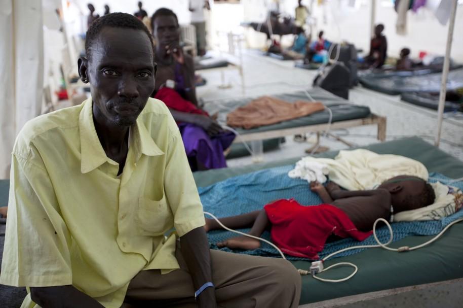 Enfermos de malaria