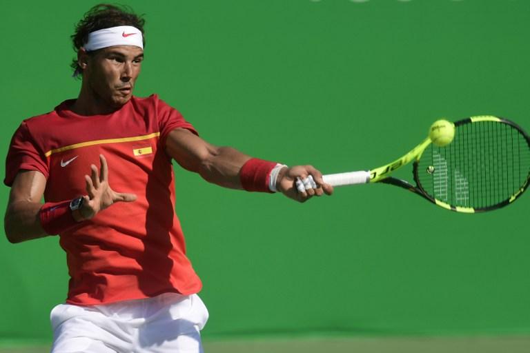 Rafael Nadal compite por el bronce contra el japonés Kei Nishikori. Pulzo.com