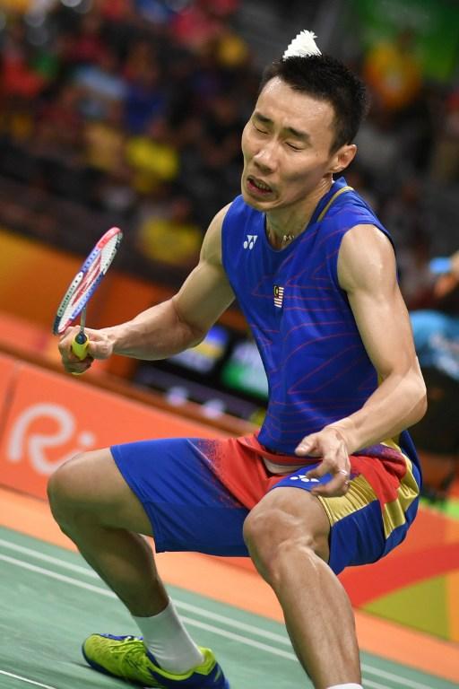 El jugador malasio de bádminton Lee Chong Wei le pegó al volante. Pulzo.com