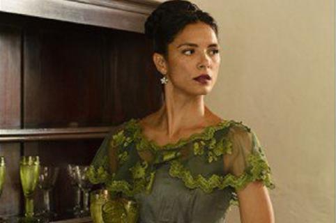 Actriz Viña Machado cuando interpretó a Eugenia en 'La esclava blanca'.