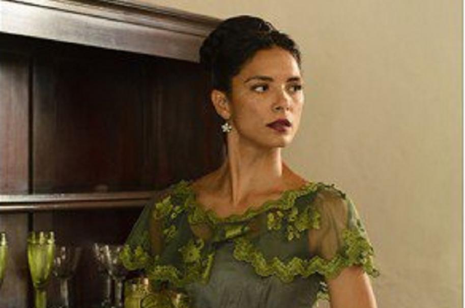 Actriz Viña Machado cuando interpretó a Eugenia en 'La esclava blanca'