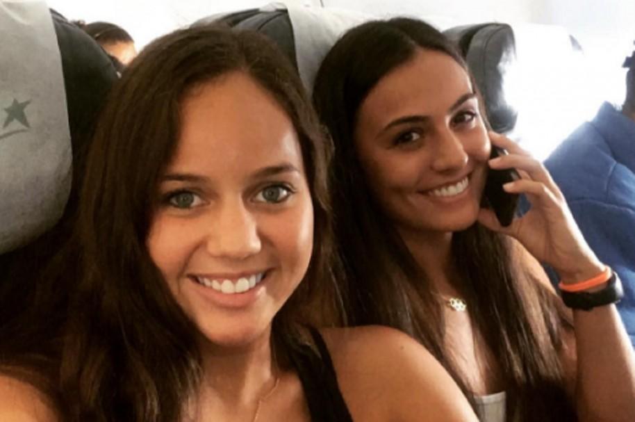Mónica Arango y Estefania Álvarez