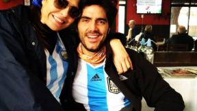 Los actores y exesposos Lorena Meritano y Ernesto Calzadilla