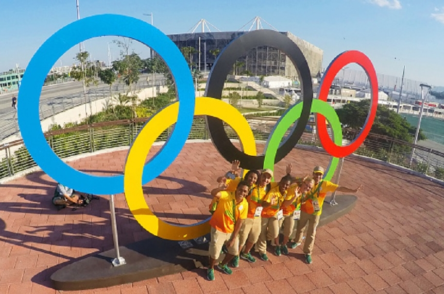 Voluntarios en Río
