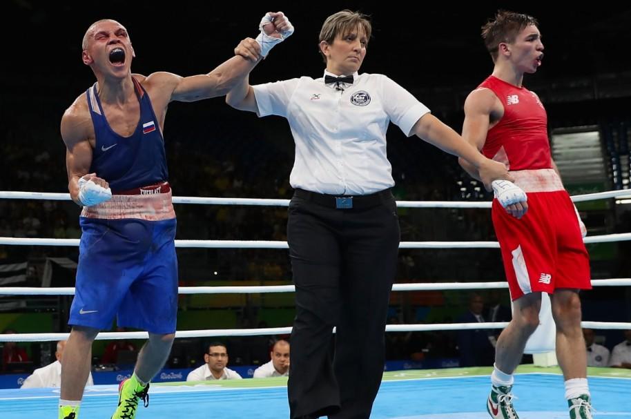 Jueces boxeo Río