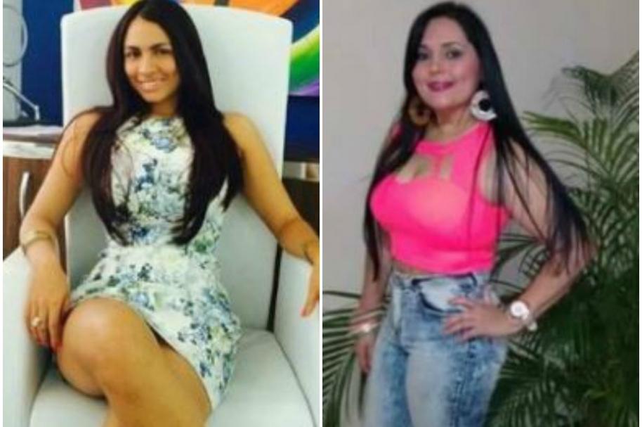 María Mónica Montero y Gina María Martínez