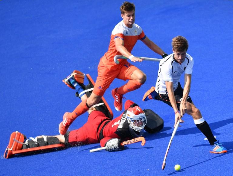 Partido de hockey en los Juegos Olímpicos. Pulzo.com