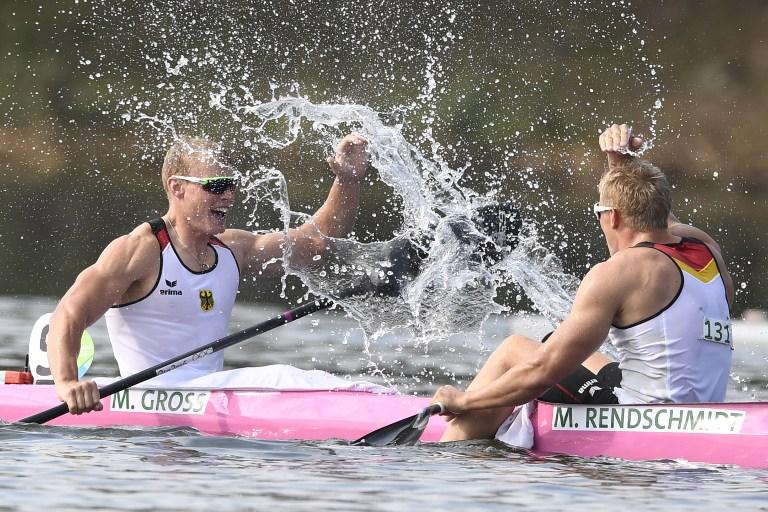 Los campeones de los 1000 metros en canotaje de velocidad. Pulzo.com