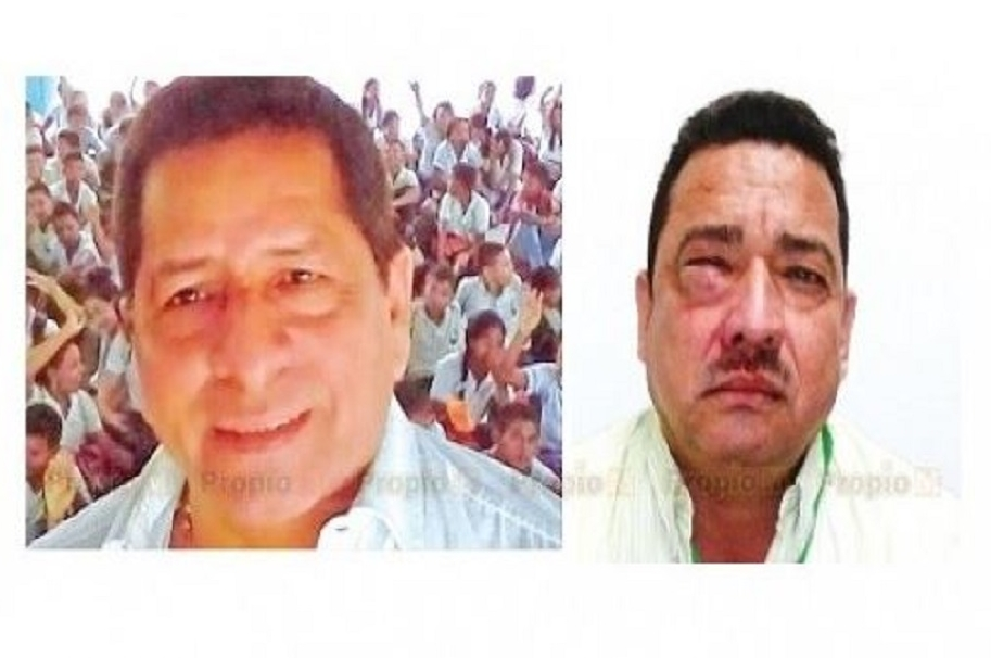 Luis Humánez y José Arrieta