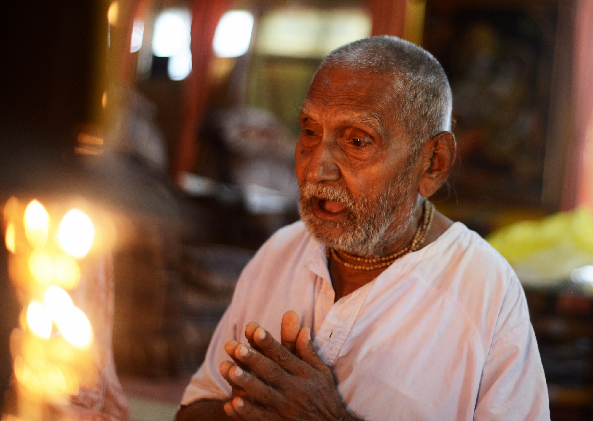 INDIA-LIFESTYLE-OLDEST-MAN