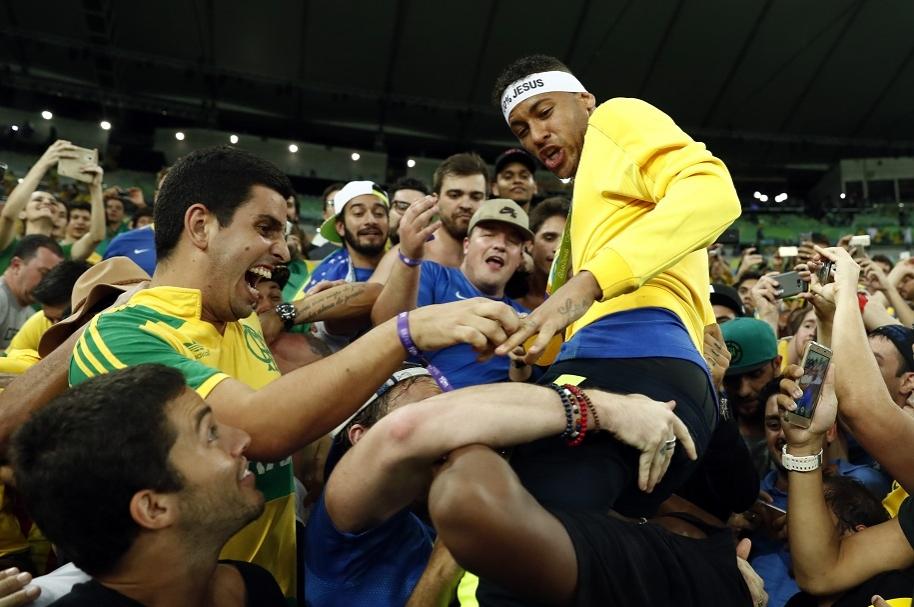 Neymar, el héroe de la jornada