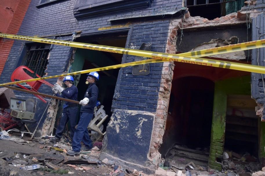 Dmolición de casas en el 'Bronx'