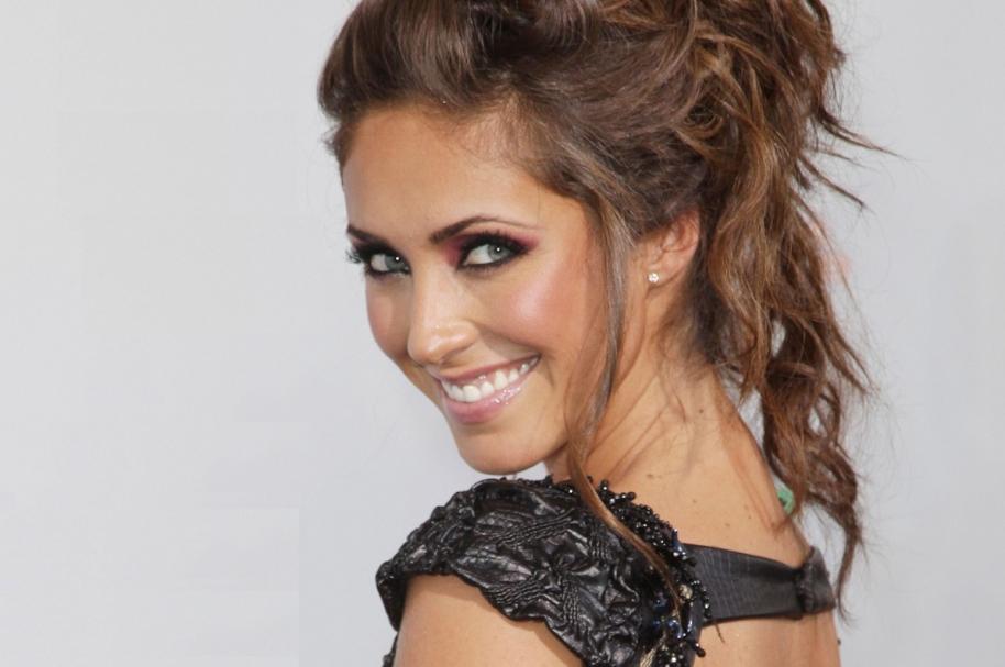 La actriz y cantante Anahí, exintegrante de RBD.