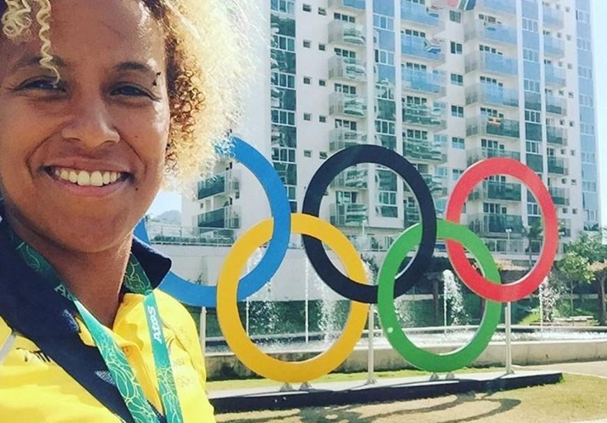 Nathalie Marchino, jugadora colombiana de rugby7