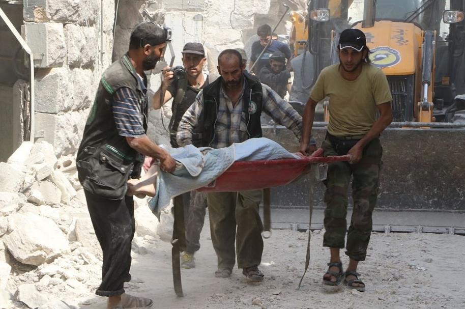 Guerra civil en Alepo, Siria