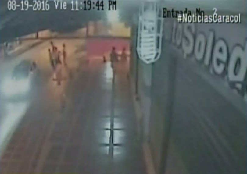 Captura de video divulgado por Noticias Caracol.
