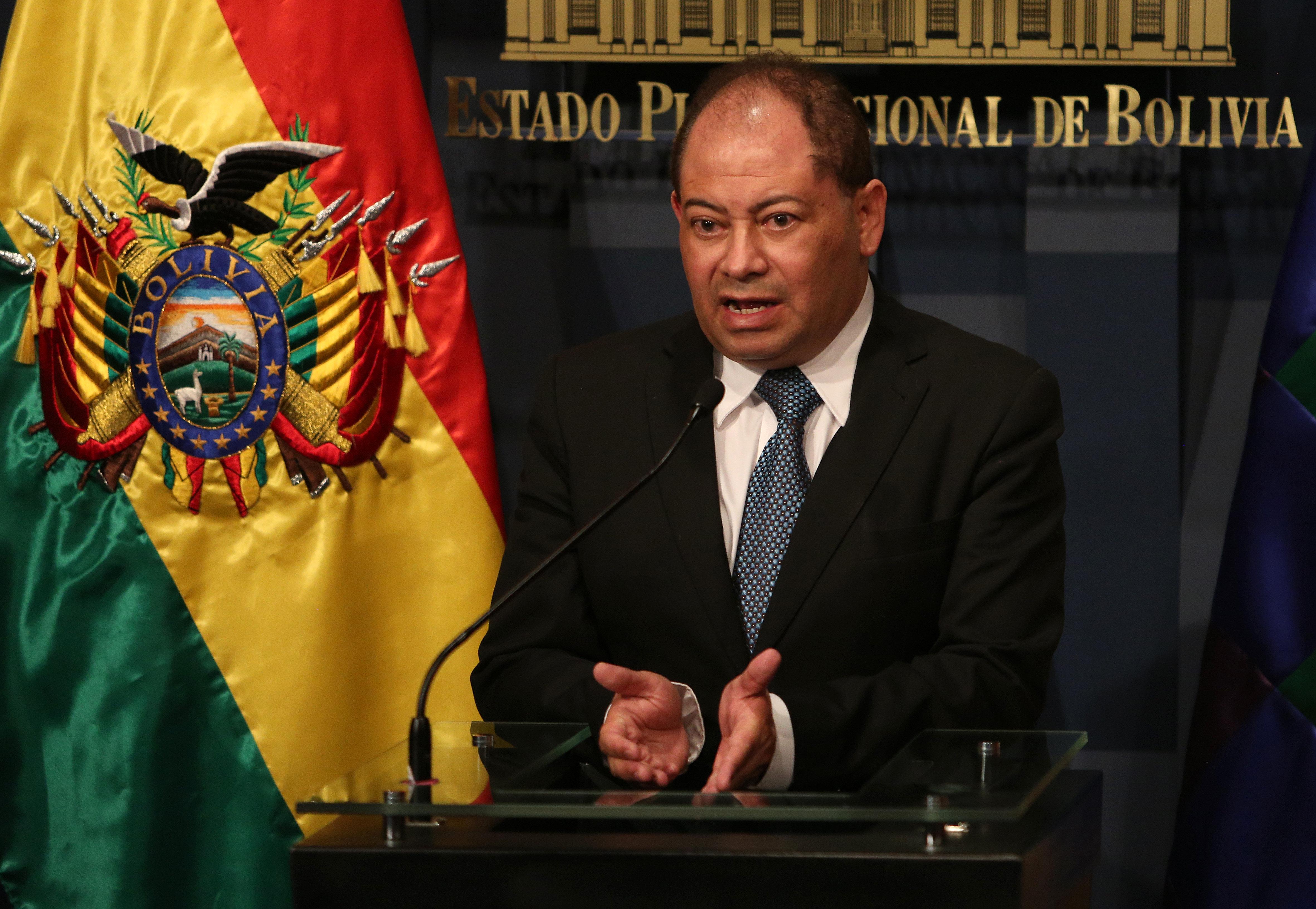 Carlos Romero, ministro del Interior