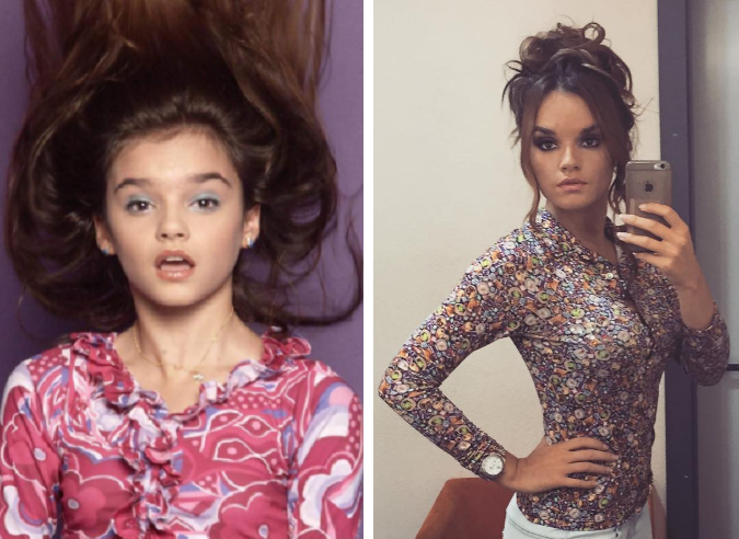 Melody antes y después