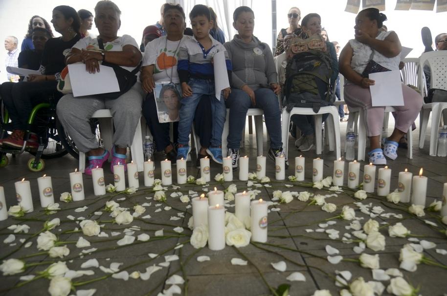 Víctimas del conflicto colombiano