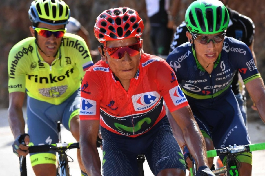 Contador, Nairo y Chaves