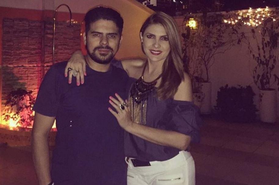 Ana Karina Soto, presentadora de RCN, y su novio, el actor Alejandro Aguilar - Pulzo.com