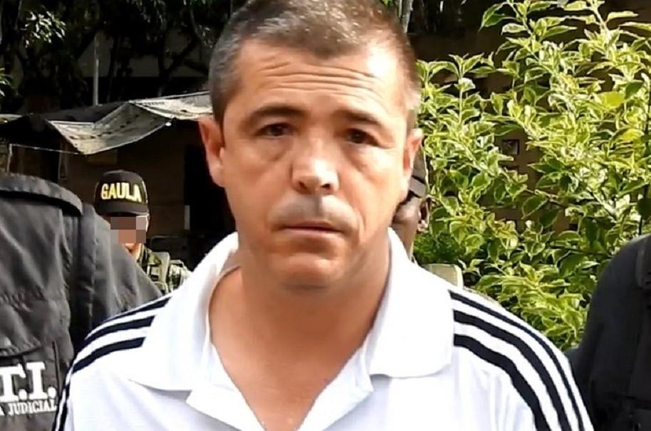 Elkin Fernando Moncada, capturado por abuso sexual infantil