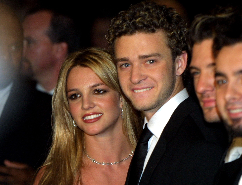 Britney Spears y Justin Timberlake en el 2002