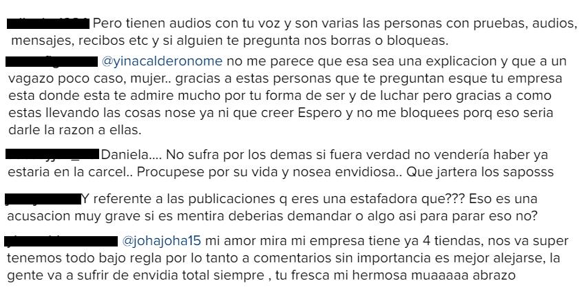 Fajas Yina Calderón