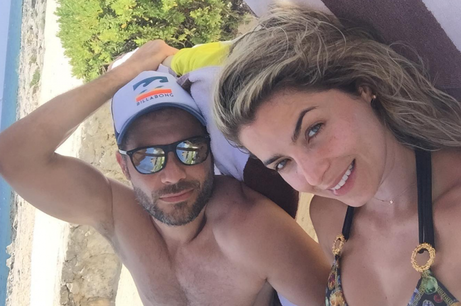 La presentadora de RCN Cristina Hurtado junto a su esposo, el actor Josse Narváez - Pulzo.com