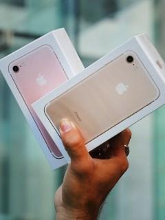 iPhone 7 y iPhone 7 Plus.