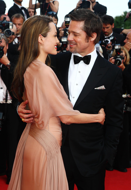 Brad Pitt y Angelina Jolie